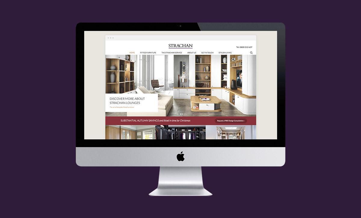Strachan Responsive Website