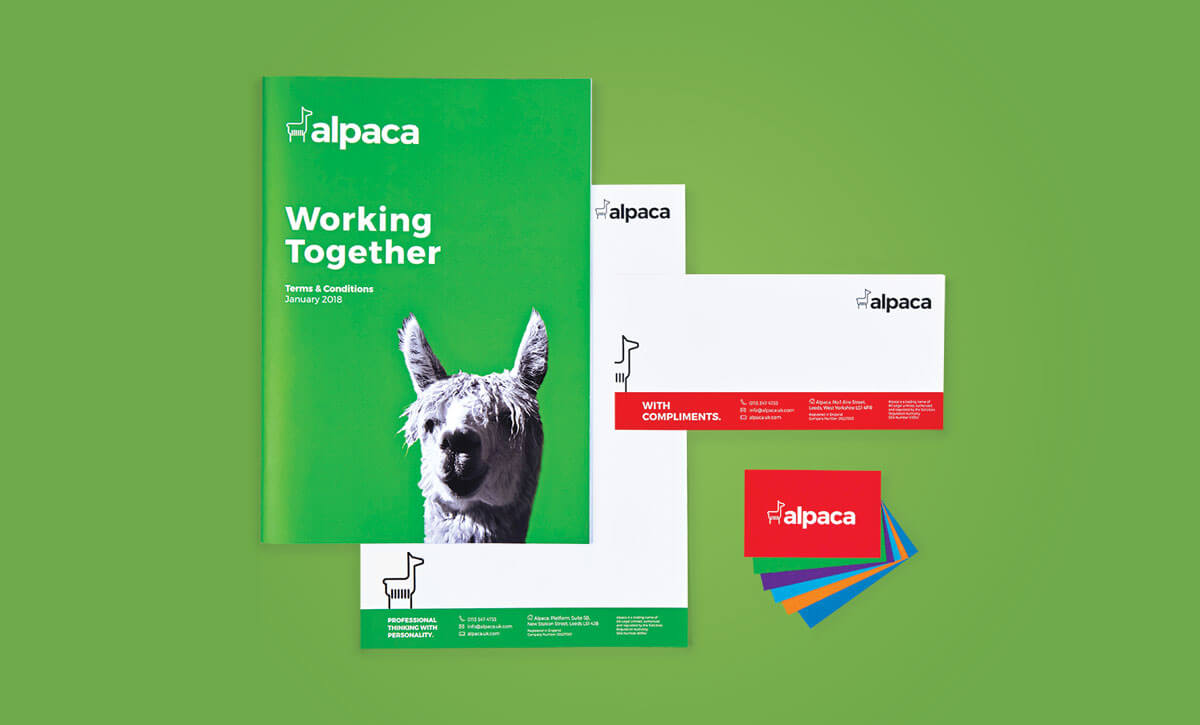 Alpaca Branding and Website